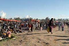Afrykanina rynek w Etiopia Obraz Stock