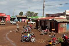 Afrykanina rynek w Kenja Fotografia Stock