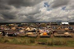 Afrykanina rynek w Kenja Zdjęcia Stock