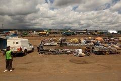 Afrykanina rynek w Kenja Zdjęcie Royalty Free