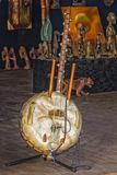 Afrykanina smyczkowy instrument muzyczny Obrazy Royalty Free