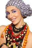 afrykanina styl Zdjęcia Royalty Free
