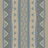 Afrykanina stylowy bezszwowy wzór ilustracja wektor