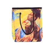 Afrykanina stylu druk na torbie Obraz Stock