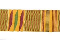 afrykanina tradycyjny pasowy wyplatający Zdjęcie Stock