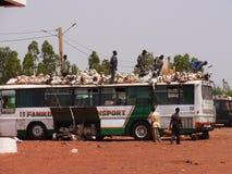 afrykanina transport Zdjęcia Stock