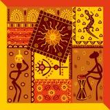 afrykanina wzór Zdjęcie Stock