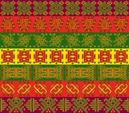 afrykanina wzór Zdjęcie Royalty Free