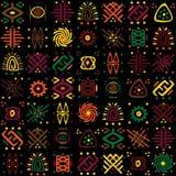 afrykanina wzór Obraz Royalty Free