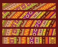 afrykanina wzór Fotografia Stock