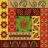 Afrykanina wzór, bezszwowy Obraz Royalty Free
