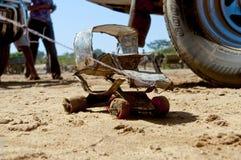 Afrykanina zabawkarski samochód, Madagascar Fotografia Royalty Free