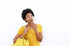 afrykanina zdziweni kobiety potomstwa Fotografia Stock