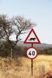 afrykanina znak Zdjęcia Stock