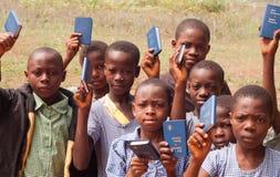 Afrykańscy dziecko w wieku szkolnym Obrazy Royalty Free