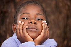 afrykański dziecko Zdjęcie Stock