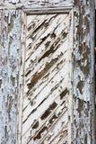 Afschilferende deur royalty-vrije stock afbeelding