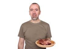 Afschuw voor vlees Royalty-vrije Stock Foto