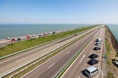 Afsluitdijk 图库摄影
