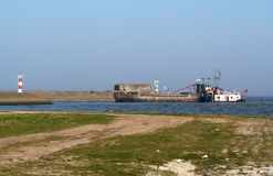 Afsluitdijk стоковая фотография rf