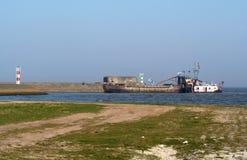 Afsluitdijk Fotografia Royalty Free