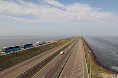 Afsluitdijk Zdjęcie Royalty Free
