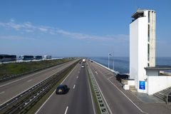 Afsluitdijk Стоковое Изображение RF