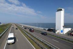 Afsluitdijk Стоковые Фотографии RF