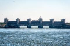 Afsluitdijk holandie Zdjęcie Stock