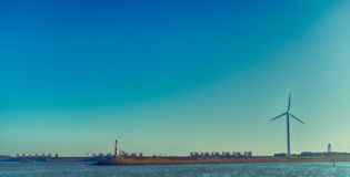Afsluitdijk holandie Zdjęcia Stock