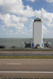 Afsluitdijk holland dams on the North Sea Royalty Free Stock Photos