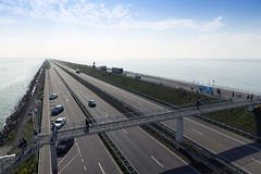 Afsluitdijk Royalty Free Stock Images