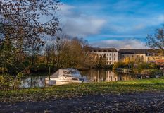 Afsnee-Drongen, Belgia fotografia royalty free