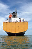 Aft of chemical tanker Stock Photos