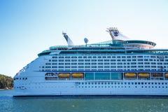 Aft of Luxury Cruise Ship Royalty Free Stock Images