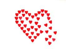 Aftappend hart Stock Afbeeldingen