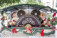Aftelprocedure aan Kerstmis Stock Foto