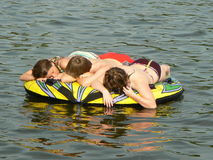 Free After Tubing Royalty Free Stock Image - 906816