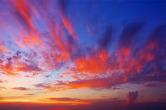 Afterglow Stock Photography