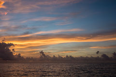 Afterglow cloudscape Zdjęcie Stock