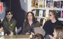Afterhours rockband Royaltyfri Bild