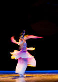 Afterimage:Mask dance--Chinese folk dance Royalty Free Stock Photography