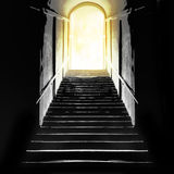 Afterlife, near death experience etc.  Filtered image. Stock Photography