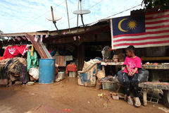 Aftermath flood. Aftermath after flood hits malaysia Stock Photography