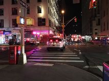 Aftermath Of Four Alarm Fire At 24 Murray Street 15 Stock Image