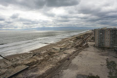 Aftermath hurricane Sandy Stock Image