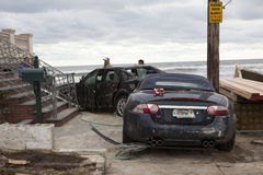 Aftermath hurricane Sandy Royalty Free Stock Photo