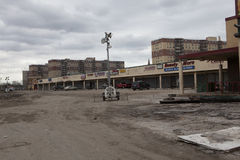 Aftermath hurricane Sandy Royalty Free Stock Photos