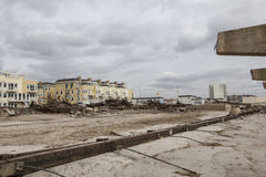 Aftermath hurricane Sandy Stock Photography
