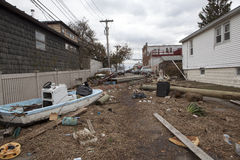 Aftermath hurricane Sandy Royalty Free Stock Photography